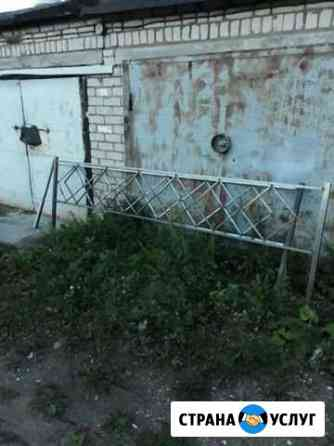 Оградки, скамейки, столики Псков