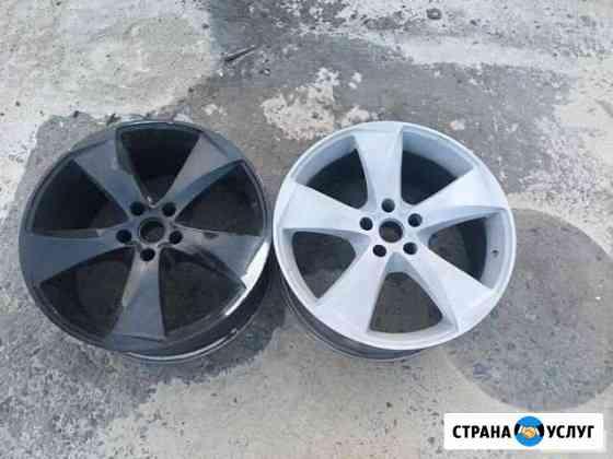 Пескоструйная обработка дисков Киреевск
