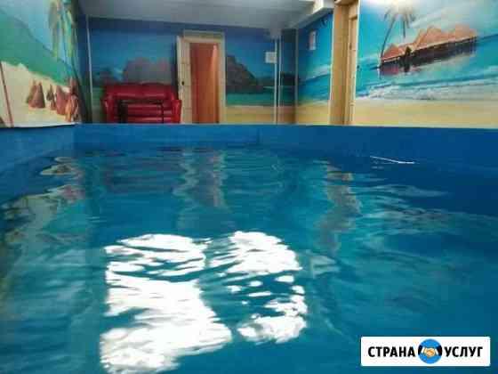 Семейная сауна с чистым бассейном Ухта