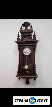 Ремонт старинных настенных часов - Реставрация Москва