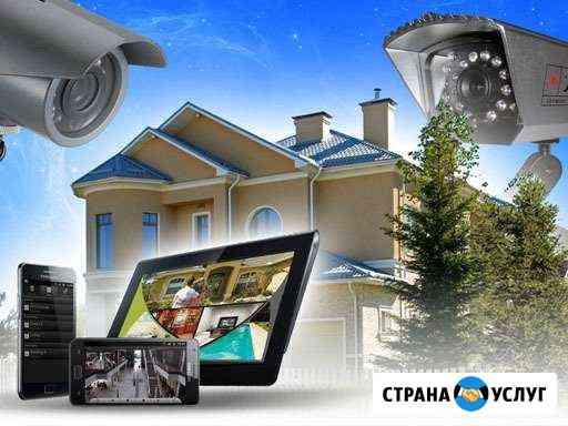 Охранное видеонаблюдение монтаж и обслуживание Кировск