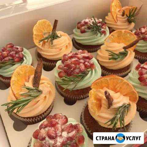Капкейки, торты на заказ Екатеринбург