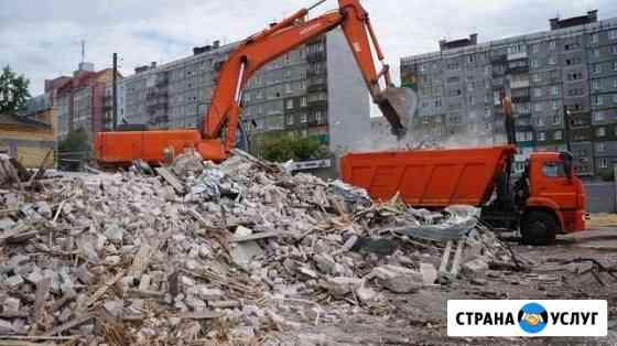 Вывоз строительного мусора. Снос, демонтаж Оренбург