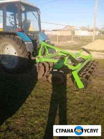 Мтз 82 Вспашка земли трактором Давыдовка
