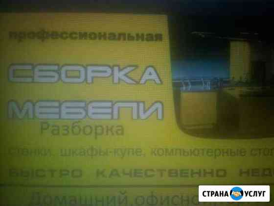 Сборщик мебели Волгоград