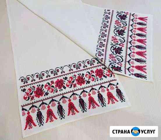 Вышивка под заказ - картины, одежда и пр Владивосток