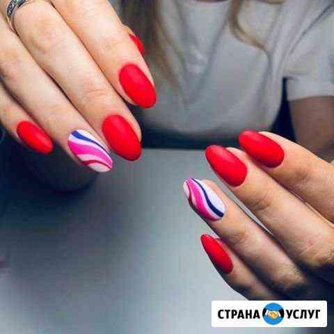 Наращивание ногтей, шеллак Тверь