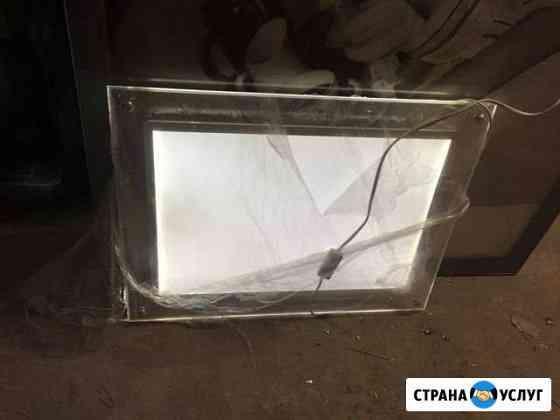 Световая панель кристалайт прозрачная сверхтонкая Санкт-Петербург