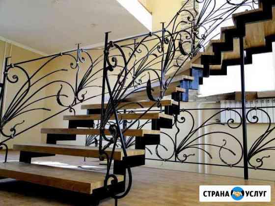 Металлокаркас для лестницы Горно-Алтайск