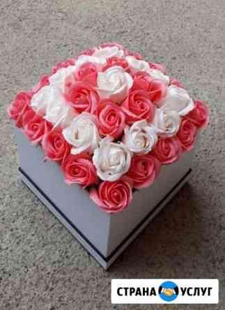 Букет из мыльных роз Владикавказ
