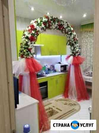Продажа :Свадебная арка Красная Калуга