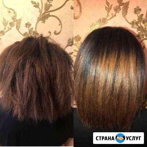 Кератиновое выпрямление,ботокс волос Липецк