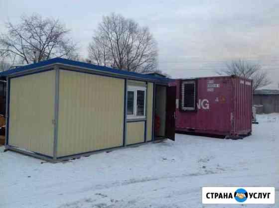 Аренда контейнер для жилья / вагончик / бытовка Владивосток