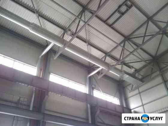 Монтаж систем вентиляции и кондиционирования Псков