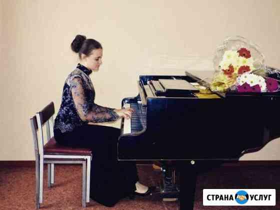 Уроки игры на фортепиано, вокала и сольфеджио Тула