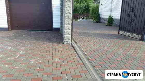 Тротуарная плитка укладка Брянск