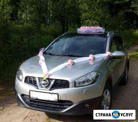 Прокат свадебного урашения на авто Череповец