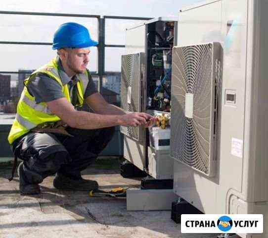 Ремонт промышленных и бытовых кондиционеров Астрахань
