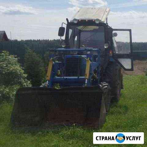 Вспашка Земли Трактором, Выравнивание участка Александров