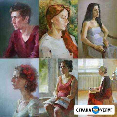 Портрет по фото Санкт-Петербург