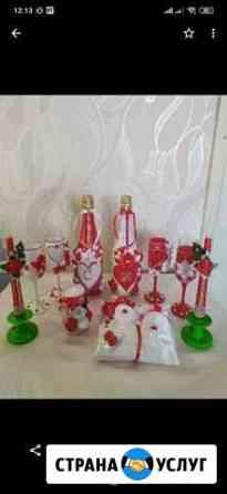Оформление праздничных бутылок Ачинск