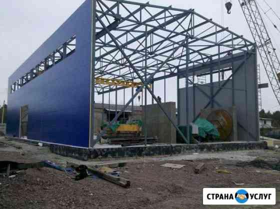 Монтаж металлоконструкций и оборудования Хабаровск