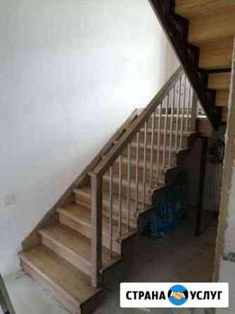 Отделка лестниц по металлокаркасу Кострома