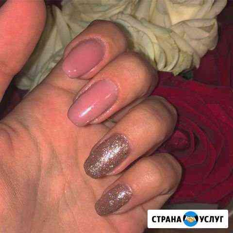 Маникюр, Наращивание ногтей, Шеллак Елец