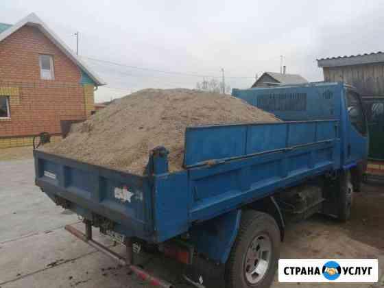 Доставка навоз,гравий,песок любой,щебень,шлак дров Чита