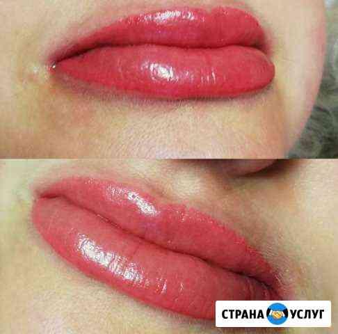 Перманентный макияж. Напыление Курск