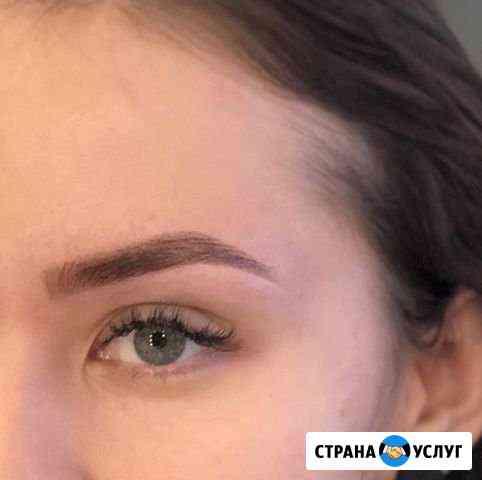 Коррекция и окрашивание бровей краской, хной Ижевск