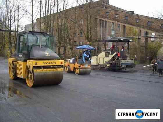 Укладка Асфальта и тротуарной плитки Пермь