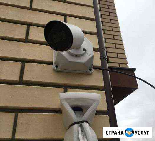Монтаж видеонаблюдения, домофонии Воронеж