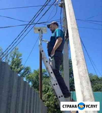 Монтаж видеонаблюдения, видеокамеры Саратов