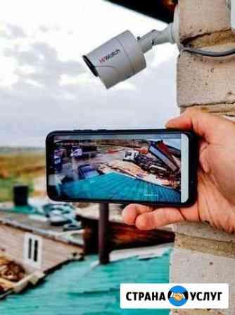 Установка Видеонаблюдения HD качества Новосибирск