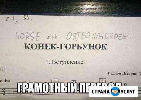 Переводчик (английский, французский, немецкий) Екатеринбург