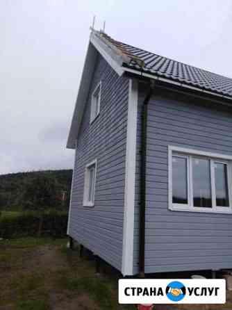 Отделка И ремонт дома дачи гаража Мурманск