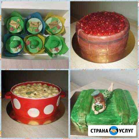 Домашние тортики на заказ Калуга