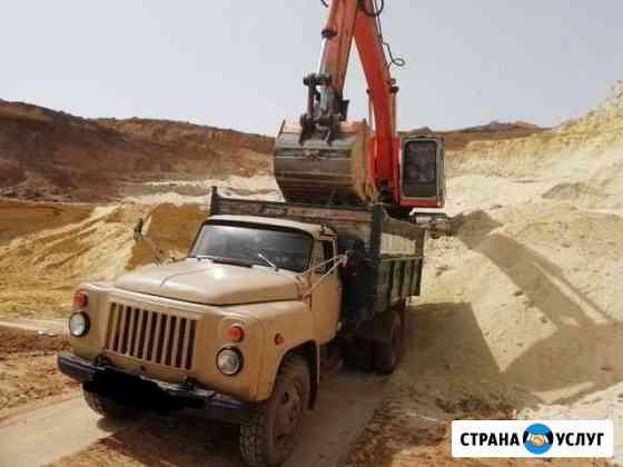 Доставка песка, щебня,перегноя, грунта, вывоз мусо Элиста