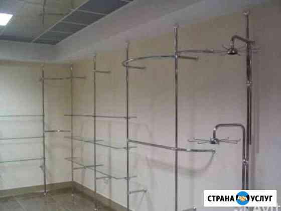 Установка, монтаж торгового оборудования, системы Пермь