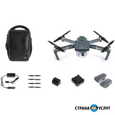 Аэросъемка с квадрокоптера Псков