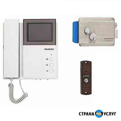Установка электронных замков, камер, домофонов Балаково