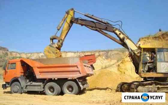 Песок, чернозем, щебень Нововоронеж