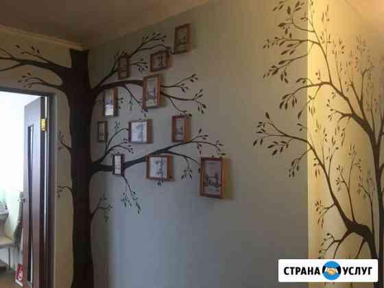Роспись стен и предметов интерьера Зеленоградск