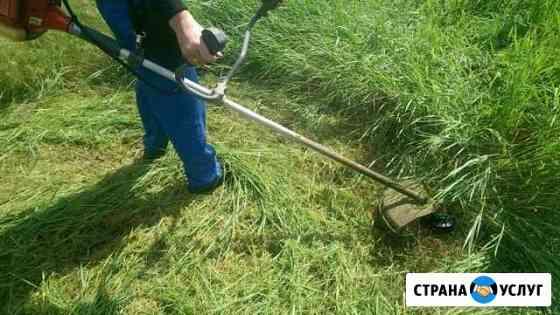 Покос травы Беслан