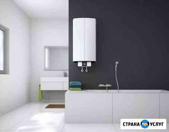 Монтаж и подключение водонагревателя Молочный