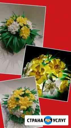 Изготовление Ростовых цветов и цветов-светильников Златоуст