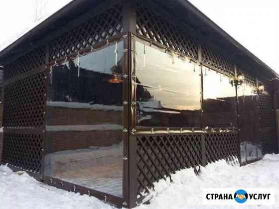 Тенты шторы пвх Челябинск