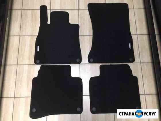 Велюровые ковры для Mercedes W222 S класс. Индивид Красноярск