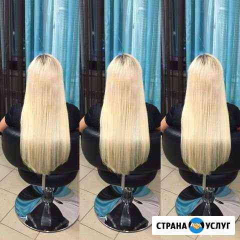 Наращивание волос, челки, исправление стрижек Абакан